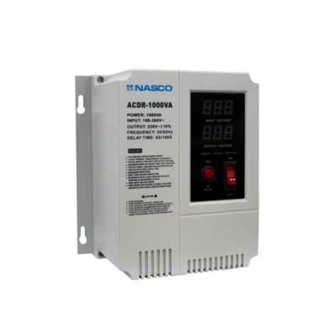 Nasco 1000Va Wall Mount Voltage Regulator Digital Display
