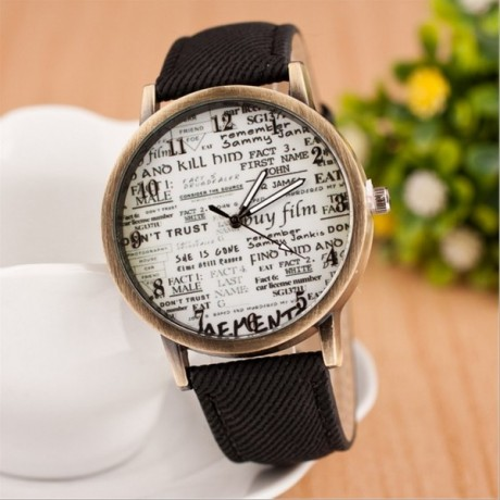 Men Women Watches Personality Watches