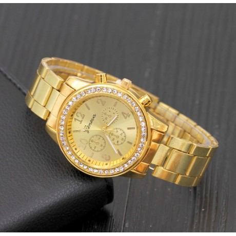 Women Triple-Eye Drilling Alloy Watches