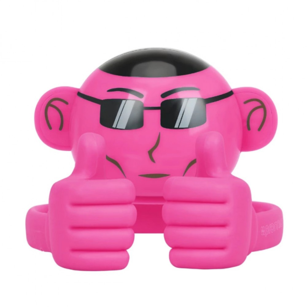 Ape Mini High Definition Wireless Monkey Speaker With Smartphone Stand