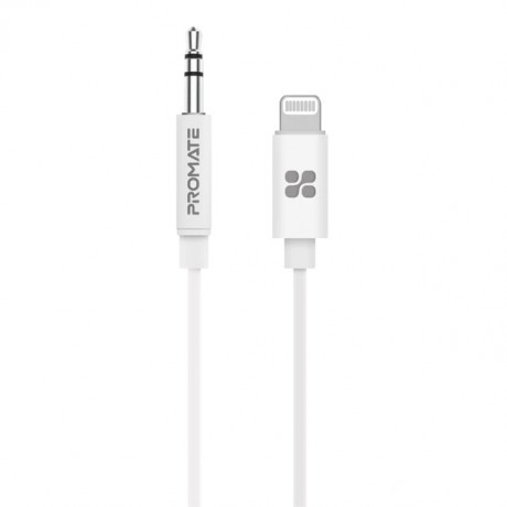 AudioLink-LT2 MFi-certified 3.5mm Stereo Audio Cable with Lightning Connector 2m Length