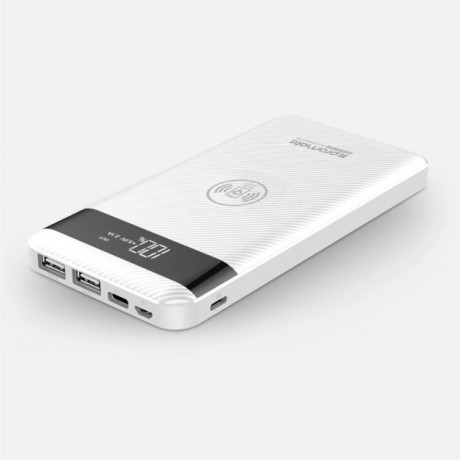 AuraPack-10 10000mAh Qi Wireless Charging Power Bank with Lightning and Micro-USB Input