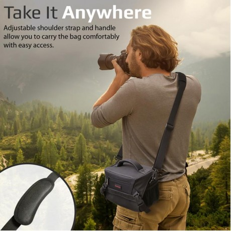 Arco-L | Compact SLR Camera bag with Adjustable Compartment