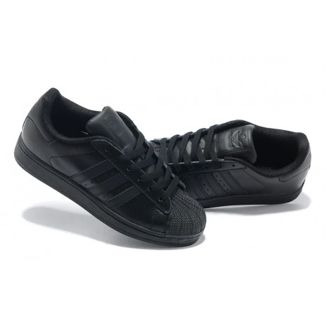 Adidas clover all black shell head Skateboarding Shoes