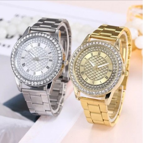 Women Watch Roman Alloy Watches