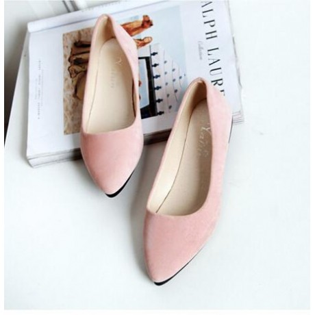 2017 Fashion suede Women shoes for Lady flat shoes