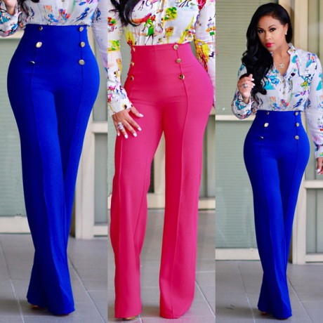 Fashion Casual Pants Trousers Office Business Attire